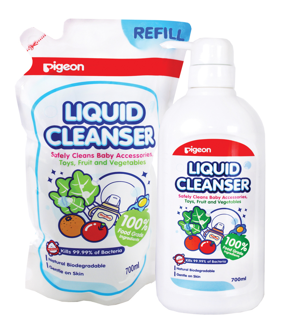 Liquid Cleanser 700mL + Refill