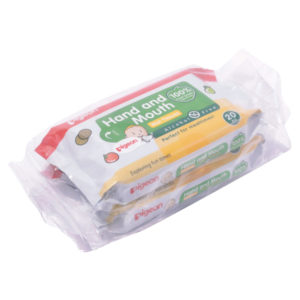 Hand & Mouth Wipes 20s 2-In-1