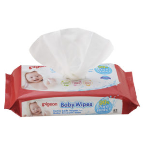 99% pure water baby wipes Single Pack 82s